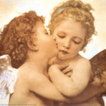 The first kiss by Bouguereau